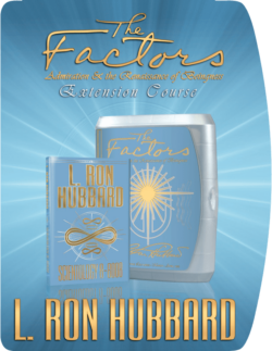 The Factors and Scientology 8-8008 Book & Lectures Course